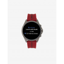 Armani Exchange Red Sillicone Smart Watch